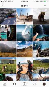 GoPro's Instagram Feed